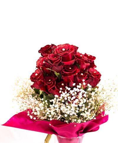 Снимка от Букет от рози  - Очарование