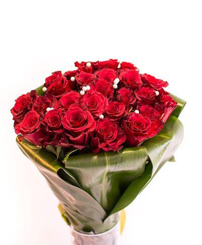 Снимка от Букет от рози  - Перлено вълшебство