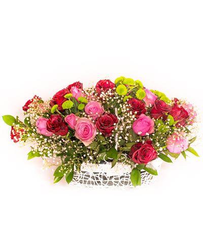 Снимка от Кошница с рози  - Удивление