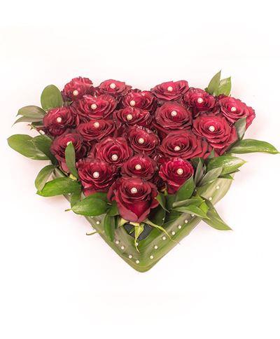 Снимка от Сърце от рози - Изисканост