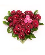 Снимка от Сърце от рози - Романтична трепет.