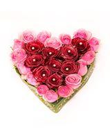 Снимка от Сърце от рози - Романтична хармония