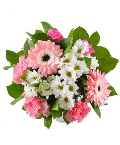 Снимка от Букет от гербери и хризантеми - Трепет