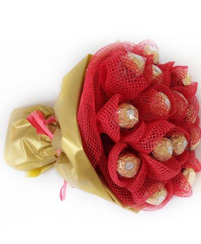 Снимка от Букет от бонбони - Шоколадова наслада