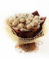 Снимка от Букет от бонбони - Шоколадова кралица