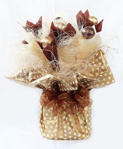 Снимка от Букет от бонбони - Шоколадово злато