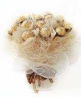 Снимка от Букет от бонбони - Бяла перла