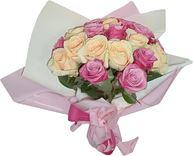 Снимка от Букет от рози Нежен допир