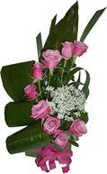 Снимка от Букет от рози Цветна симфония