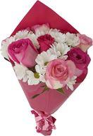 Снимка от Букет от рози и хризантеми Рай