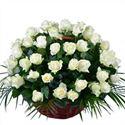 Снимка от Кошница с рози Мечта