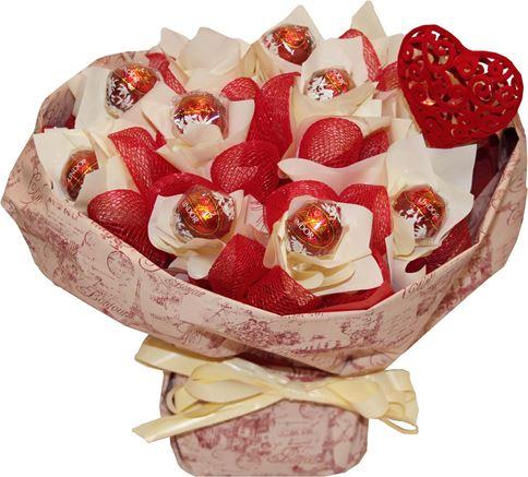 Снимка от Букет от бонбони Линд Еуфория