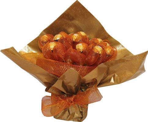 Снимка от Букет от бонбони Златно вълшебство