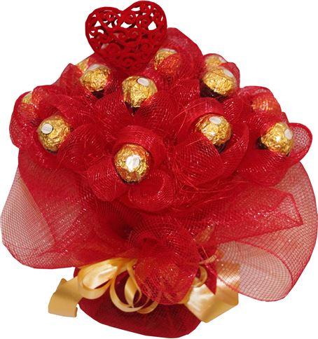 Снимка от Букет от бонбони Шоколадова страст
