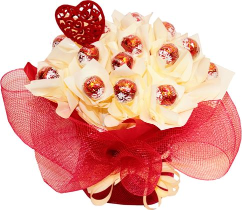 Снимка от Букет от бонбони Шоколадово блаженство
