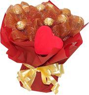 Снимка от Букет от бонбони Любовно послание