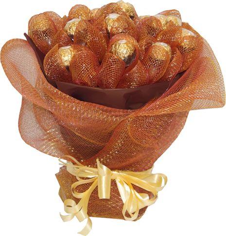 Снимка от Букет от бонбони Шоколадова феерия