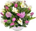 Снимка от Кошница с пролетни цветя Ухание