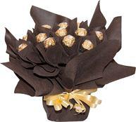 Снимка от Букет от бонбони Шоколадова Еуфория