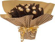 Снимка от Букет от бонбони Шоколадово изкушение