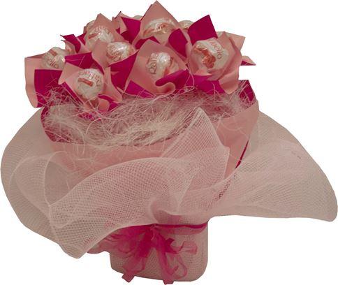 Снимка от Букет от бонбони Розова наслада