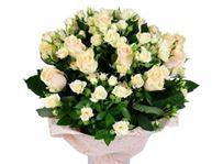 Снимка от Букет от рози Бяло ухание