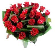 Снимка от Букет с рози Прелестен