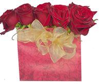 Снимка от Кутия с рози Емоция - 15 рози