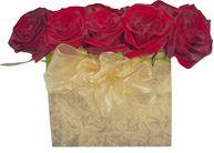 Снимка от Кутия с рози Плам - 15 рози