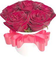 Снимка от Кутия с рози Желание - 7 рози