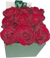 Снимка от Кутия с рози Привързаност - 9 рози