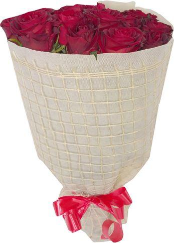 Снимка от Букет с рози Приятелство - цвят перла