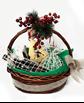 Снимка от Коледна кошница в зелено