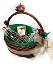 Снимка от Малка Коледна кошница в зелено